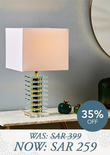 Carnelian table lamp